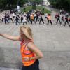 Invitaţie la mişcare în Parcul 1 Decembrie - S-au întrecut la cross și au dansat