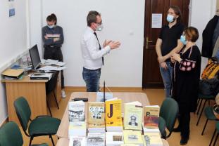 Acord de parteneriat la Universitatea din Oradea - Colecţia Paul Goma, donată pentru cercetare