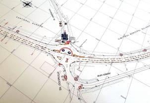 Pentru amenajarea pasajului suprateran de pe şoseaua de centură - Restricții de circulație
