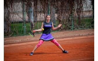 Victorie importantă pentru Patricia Goina - A învins o jucătoare din top 80 mondial la U18