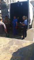 Produsele au fost predate Grădinii Zoologice - Peste două tone de pepeni, confiscate de polițiști