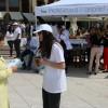 O testare gratuită care v-ar putea salva viața - Campanie pentru screening, în stradă
