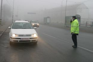 Un şofer a fost înregistrat radar în timp ce conducea cu 153 km/oră - Sute de amenzi, zeci de permise reţinute