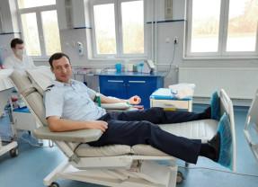 Pompierii bihoreni au donat sânge