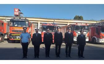 Peste 190 de pompieri militari bihoreni - Înaintați în grad, la termen