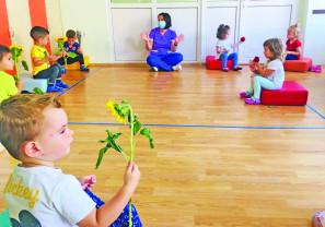 Activități distractive și educative la Creșa de vară - Vară, soare și culoare