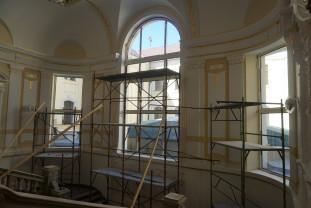 Reabilitarea interioară a clădirii Primăriei Oradea - Stadiul lucrărilor