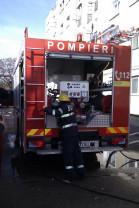 Incendiu puternic într-un apartament din Oradea - Bărbat rănit grav