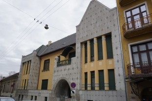 Restaurarea Casei Darvas - La Roche - 70% din lucrări, realizate