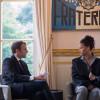 """Rihanna, primită de soții Macron la Palatul Elysée - """"O întâlnire absolut incredibilă"""""""