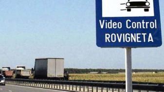 Serviciul de emitere a rovinietelor - Va funcționa mâine cu intermitențe