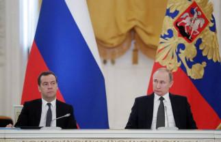 Putin a anunţat schimbări în Constituţie - Guvernul Rusiei a demisionat