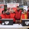"""Voluntarii Caritas Catolica au împărţit hrană caldă la 150 de nevoiaşi - """"Să nu se simte singuri"""""""