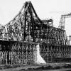 Podul istoric de la Cernavodă, testat cu riscul vieţii de creatorul său