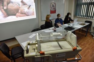 Aparatură medicală performantă la Maternitatea Oradea - O donaţie importantă