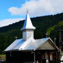 Taina Sfântului Maslu la Schitul Vârtop