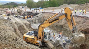55% din lucrările realizate între Dușești și Hidișelu de Sus - Reabilitarea DN 76