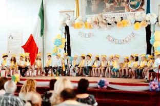 """Serbare de sfârșit de an școlar la Don Orione - Grupa Albinuțelor a spus """"Adio, grădiniță!"""""""