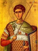 Sâmbătă, 26 octombrie - Sfântul Mare Mucenic Dimitrie, Izvorâtorul de mir