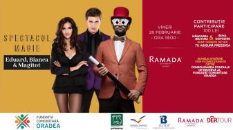 Magitot & Eduard și Bianca, la Ramada - Spectacol caritabil de magie