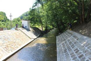 A fost reabilitată stația hidrometrică Pădurea Neagră