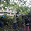 Acțiuni intense pentru revenirea la normalitate - Furtuna a trecut, pagubele au rămas