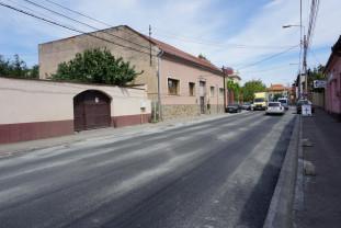 Strada Louis Pasteur - S-au încheiat asfaltările