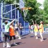 Sport Arena Streetball, la Oradea - Baschet 3 la 3, în Piaţa Unirii