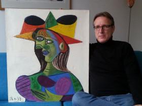 Tablou de Picasso furat în urmă cu 20 de ani, estimat la 25 mil. euro - O recuperare norocoasă