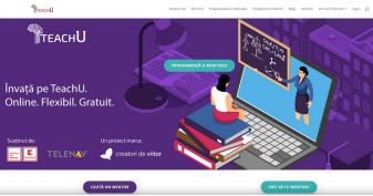 """Denumită """"TeachU.ro"""", a fost lansată de un ONG pentru liceeni - Platformă de meditații gratuite"""