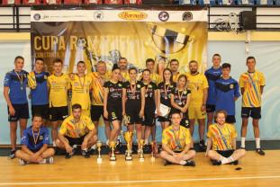 Medaliaţi în Cupa României la fotbal-tenis - Două trofee pentru Tengo Salonta