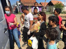 Școala Creștină din cartierul romilor Tinca - Vine școala la copii