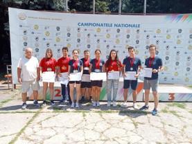 """CN de juniori la tir sportiv - CSU Oradea a """"țintit"""" 20 de medalii"""