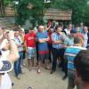 Zeci de localnici au protestat împotriva NIS Petrol - Revoltă la Toboliu
