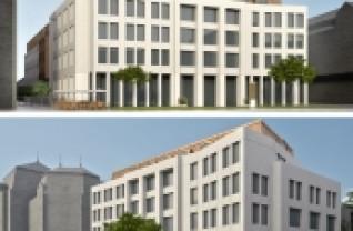 Program de regenerare urbană - Clădire nouă în Parcul Traian
