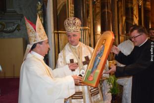 În perioada 8 - 10 septembrie, în eparhia Oradea - Vizita Nunţiului Apostolic