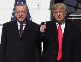 """Întâlnire """"minunată"""" între Trump și Erdogan - Fără niciun rezultat concret"""