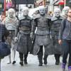 Umblătorii Albi s-au plimbat pe străzile din Londra - Au cucerit Marea Britanie