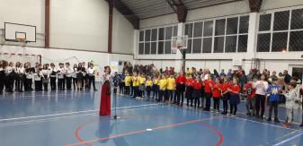 """Spectacol omagial la Şcoala Gimnazială Dacia - """"Noi vrem să ne unim cu țara!"""""""