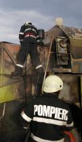Pompierii recomandă ca maşinile agricole să fie revizuite din timp - Utilaje agricole în flăcări
