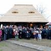 Colind vetrei străbune a Maramureșului, în România Mică - Neuitare de Ţară, de tinda casei bătrâne