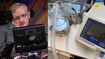 Celebrul ventilator folosit de Stephen Hawking - Donat pacienţilor infectaţi