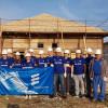 """Proiectul """"Locuinţe pentru un viitor sigur"""" - Voluntarii Eberspächer au fost la înălţime"""