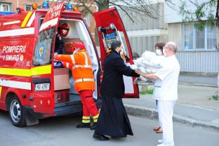 Patriarhia Română. Ajutor social-filantropic - Alături de oamenii greu încercaţi