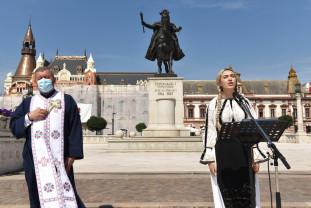 Ziua Imnului Naţional - Ceremonie de pandemie