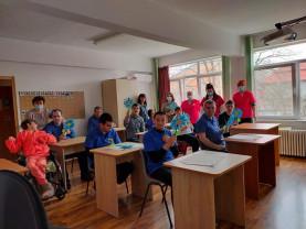 La sediul Asociației SOS Autism Bihor - Zi festivă pentru beneficiari