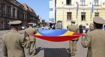 Mâine, 26 iunie - Ceremonie militar-religioasă de Ziua Drapelului Naţional