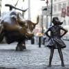Statuia va rămâne pe Wall Street până în 2018 - Fetiţa care sfidează taurul