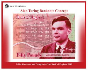 """Alan Turing, pe bancnotele de 50 de lire sterline - """"Iertat"""" pentru homosexualitate"""