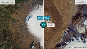 Primul ghețar dispărut din cauza schimbărilor climatice - Comemorare în Islanda